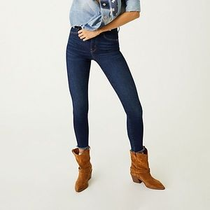 Free People raw high rise jegging | indigo